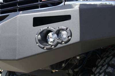 Fog/Driving Lights and Components - Fog/Driving Light Housing - Fab Fours - Fab Fours 20090 Injection Molded Light Housing