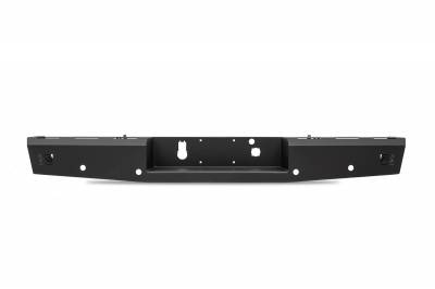 Fab Fours - Fab Fours CH15-RT3050-1 Red Steel Rear Bumper - Image 1