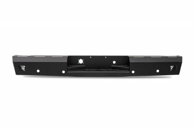 Fab Fours - Fab Fours DR06-RT1050-1 Red Steel Rear Bumper - Image 1