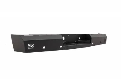 Fab Fours - Fab Fours DR06-RT1050-1 Red Steel Rear Bumper - Image 2