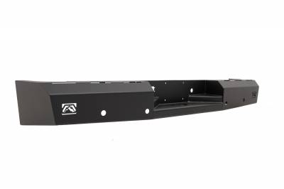 Fab Fours - Fab Fours DR10-RT2950-1 Red Steel Rear Bumper - Image 2