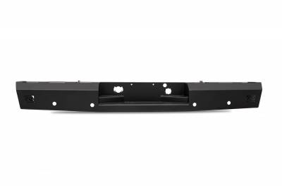 Fab Fours - Fab Fours FF09-RT1750-1 Red Steel Rear Bumper - Image 1