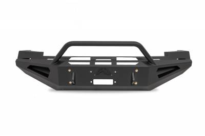 Fab Fours - Fab Fours CS07-RS2062-1 Red Steel Front Bumper - Image 1