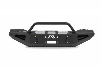 Fab Fours - Fab Fours DR03-RS1062-1 Red Steel Front Bumper - Image 1
