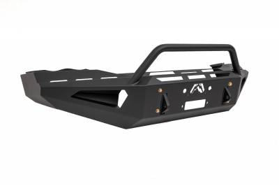 Fab Fours - Fab Fours DR03-RS1062-1 Red Steel Front Bumper - Image 3