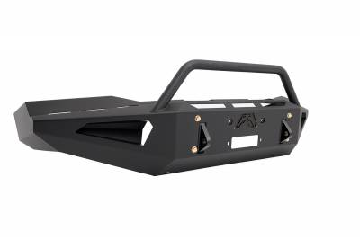 Fab Fours - Fab Fours DR06-RS1162-1 Red Steel Front Bumper - Image 2