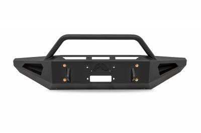 Fab Fours - Fab Fours FF09-RS1762-1 Red Steel Front Bumper - Image 1