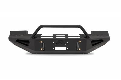 Fab Fours - Fab Fours FS05-RS1262-1 Red Steel Front Bumper - Image 1