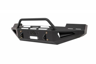 Fab Fours - Fab Fours FS05-RS1262-1 Red Steel Front Bumper - Image 2