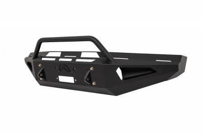 Fab Fours - Fab Fours FS08-RS1962-1 Red Steel Front Bumper - Image 3