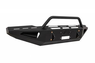 Fab Fours - Fab Fours TT07-RS1862-1 Red Steel Front Bumper - Image 2