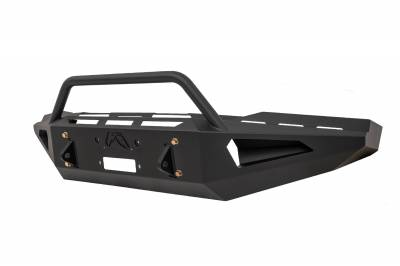 Fab Fours - Fab Fours TT07-RS1862-1 Red Steel Front Bumper - Image 3