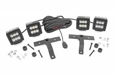 Rough Country - Rough Country 70822 LED Light Pod Kit - Image 1