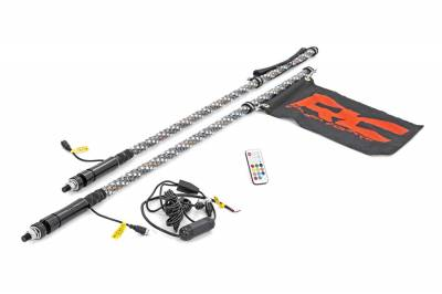 Exterior Lighting - LED Light Bar Controller - Rough Country - Rough Country 93004 LED Wireless Remote Control