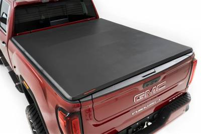 Rough Country - Rough Country RC46120690 Soft Tri-Fold Tonneau Bed Cover - Image 1