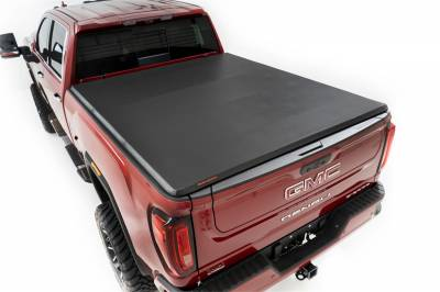 Rough Country - Rough Country RC46120690 Soft Tri-Fold Tonneau Bed Cover - Image 2