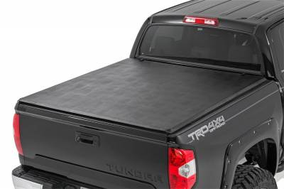 Rough Country - Rough Country RC46419550 Soft Tri-Fold Tonneau Bed Cover - Image 2