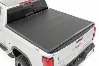 Rough Country - Rough Country RC44308650 Soft Tri-Fold Tonneau Bed Cover - Image 5