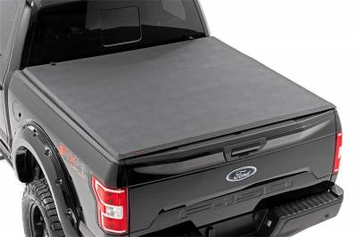 Rough Country - Rough Country RC44501550 Soft Tri-Fold Tonneau Bed Cover - Image 4