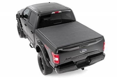Rough Country - Rough Country RC44501550 Soft Tri-Fold Tonneau Bed Cover - Image 5