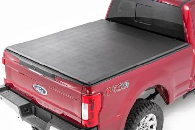 Rough Country - Rough Country RC44599650 Soft Tri-Fold Tonneau Bed Cover - Image 2