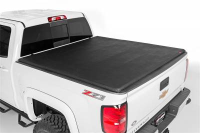 Rough Country - Rough Country RC44705501 Soft Tri-Fold Tonneau Bed Cover - Image 1