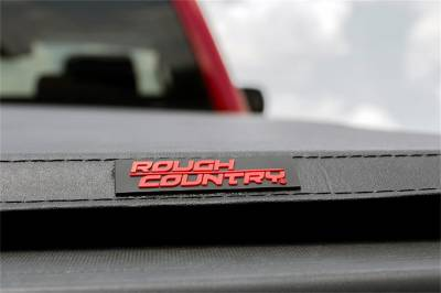 Rough Country - Rough Country RC44705501 Soft Tri-Fold Tonneau Bed Cover - Image 3