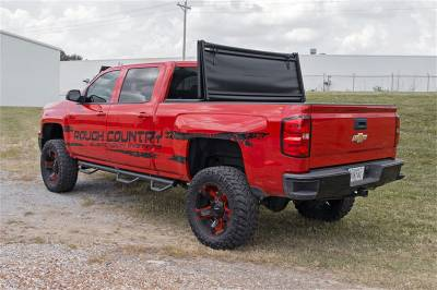Rough Country - Rough Country RC44705501 Soft Tri-Fold Tonneau Bed Cover - Image 2