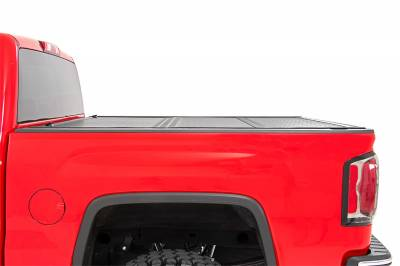 Rough Country - Rough Country 47119551 Hard Tri-Fold Tonneau Bed Cover - Image 2