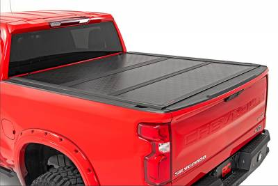Rough Country - Rough Country 47120580 Hard Tri-Fold Tonneau Bed Cover - Image 2