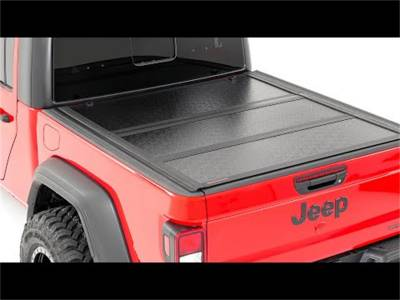 Rough Country - Rough Country 47415500 Hard Tri-Fold Tonneau Bed Cover - Image 3