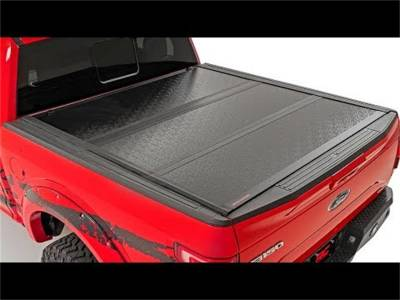 Rough Country - Rough Country 47420600 Hard Tri-Fold Tonneau Bed Cover - Image 1