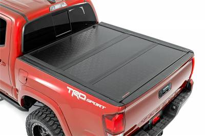 Rough Country - Rough Country 47420600 Hard Tri-Fold Tonneau Bed Cover - Image 3