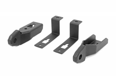 Trailer Hitch Accessories - Tow Hook Mount - Rough Country - Rough Country RS144 Tow Hook To Shackle Conversion Kit