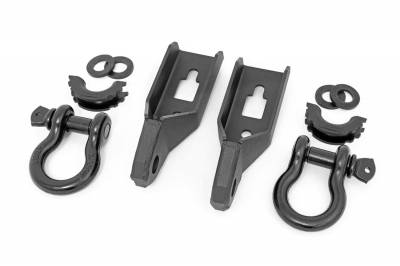Trailer Hitch Accessories - Tow Hook Mount - Rough Country - Rough Country RS158 Tow Hook To Shackle Conversion Kit