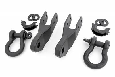 Trailer Hitch Accessories - Tow Hook Mount - Rough Country - Rough Country RS167 Tow Hook To Shackle Conversion Kit