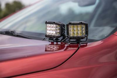 Rough Country - Rough Country 70851 LED Lower Windshield Ditch Kit - Image 5