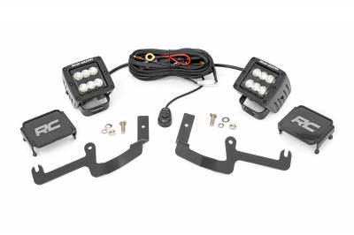 Exterior Lighting - Exterior LED Kit - Rough Country - Rough Country 70842 LED Lower Windshield Ditch Kit