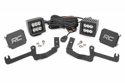Exterior Lighting - Exterior LED Kit - Rough Country - Rough Country 70841 LED Lower Windshield Ditch Kit