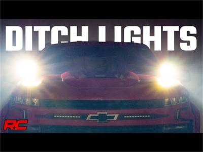 Rough Country - Rough Country 70841 LED Lower Windshield Ditch Kit - Image 2