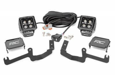 Exterior Lighting - Exterior LED Kit - Rough Country - Rough Country 70844 LED Lower Windshield Ditch Kit