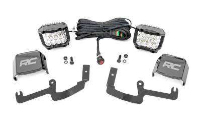 Exterior Lighting - Exterior LED Kit - Rough Country - Rough Country 70845 LED Lower Windshield Ditch Kit