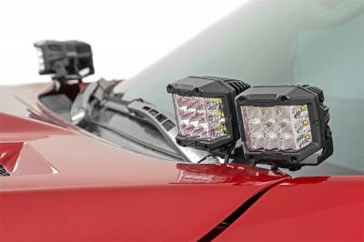 Rough Country - Rough Country 70837 LED Lower Windshield Ditch Kit - Image 2