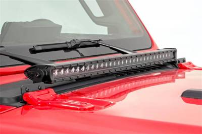 Rough Country - Rough Country 70053 LED Light Bar Hood Kit - Image 2