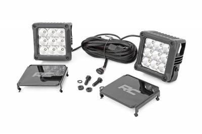 Exterior Lighting - Exterior LED Kit - Rough Country - Rough Country 70905DRL Chrome Series Cree LED Light Kit