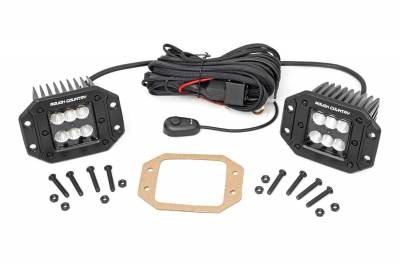Exterior Lighting - Exterior LED Kit - Rough Country - Rough Country 70113BL Cree LED Lights