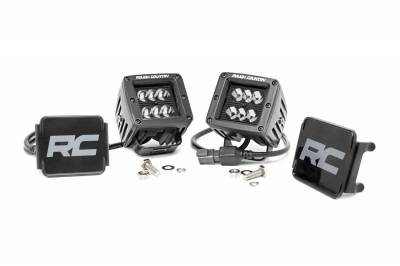 Exterior Lighting - Exterior LED Kit - Rough Country - Rough Country 70903BL Cree Black Series LED Light