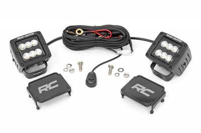 Exterior Lighting - Exterior LED Kit - Rough Country - Rough Country 70133BL Cree LED Lights
