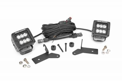 Exterior Lighting - Exterior LED Kit - Rough Country - Rough Country 70052 LED Lower Windshield Kit