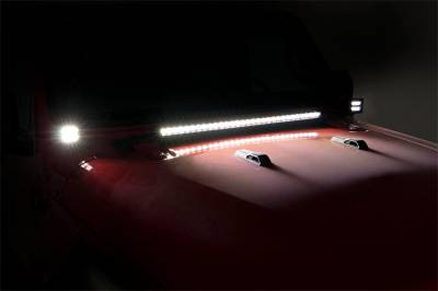 Rough Country - Rough Country 70052 LED Lower Windshield Kit - Image 5